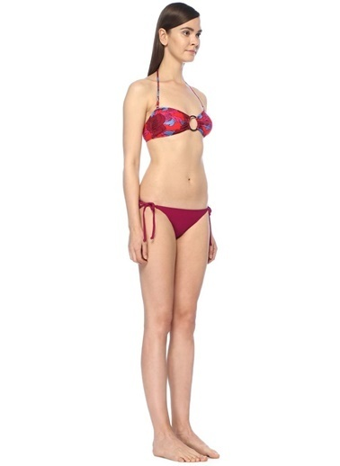 Diane Von Furstenberg Bikini Üst Fuşya